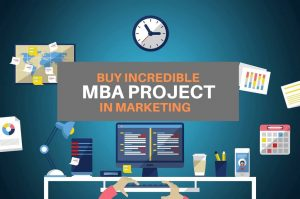 Best Choice for MBA Project Work