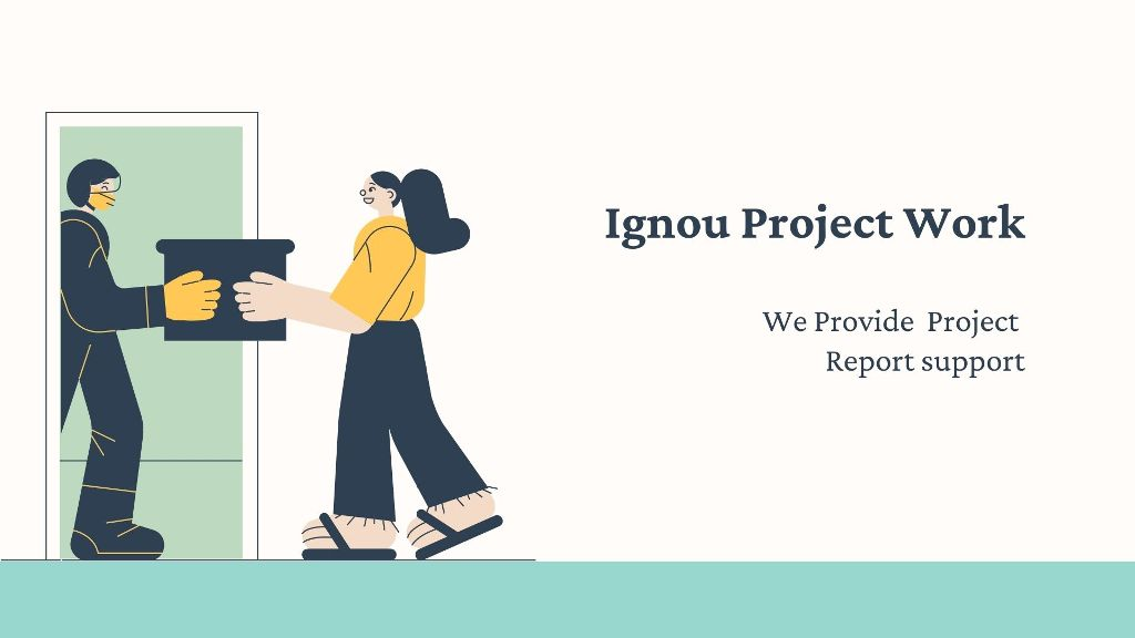 Ignou Project Work